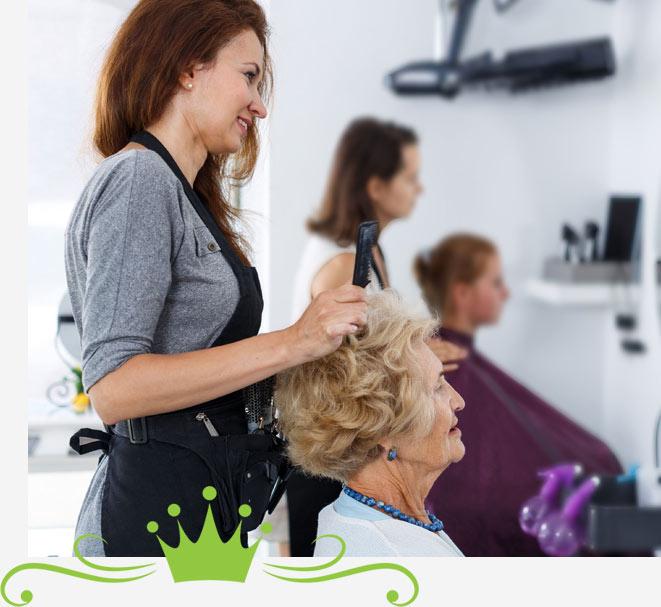 Senior Salon Services in Florida | Salon Professionals