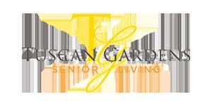 Tuscan Gardens Logo | Salon Professionals Communities Serviced